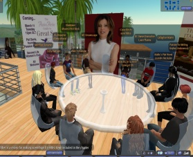 Maria Liberati - SL Writers Club Roundtable